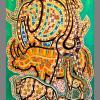 2011  AFRICAN FANTASY  acrilico su tela cm 70 x 120................euro 1200