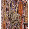 2014  TRIBAL IDOLS  acrilico su tela  cm 60 x 90 .............euro 600