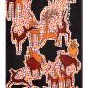 2012  ANIMAUX PRIMITIF  acrilico su tela cm 30 x 60.........not available