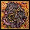 1999 - Tribal - acrilico su tela cm 70 x 70 - - -not available
