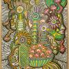 1999 - Natura morta - acrilico su tela cm 70 x 100 -- -not available